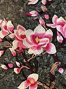 FaceBook Sale #5  Two Piece Large Floral Cluster Appliques