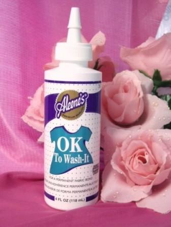 "Aleene's ""OK to Wash It"" Permanent Fabric Glue"