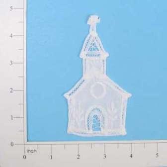 "E5253 Battenburg Victorian Church Lace Applique 4"""
