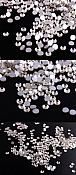 1440 Pieces High Quality Flat Back Rhinestones SS16 Glue on Non Hotfix DIY Crafts Clothing Nails (DH112)