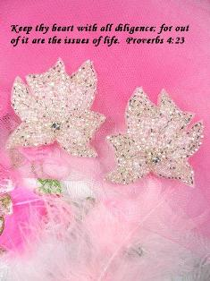 """FS2164  Silver Crystal AB Mirror Pair Beaded  Appliques 2"""""""