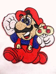 "GB21 ""Mario"" Embroidered Applique 2.75"""