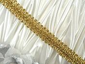 "REMNANT Gold Metallic Cord Sewing Trim 25"" (RMGB523)"