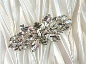 "(Reduced) Shoe Clip Crystal Rhinestone Accessory Clip 2.5"" (RMGB524)"
