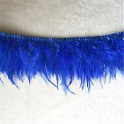 "Blue Feather Fringe Trim 4.5"" (GB537)"