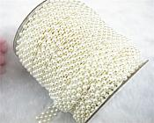 "Artificial Pearl Trim White 0.5"" (GB609)"