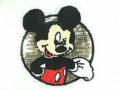"Mickey Mouse Sequin 3d Loop Applique  6"" GB839"