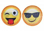 "Emoji Applique Changing Patch Sequin 7"" GB855"