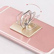 Iphone Mobile Phone or Tablet Metal Ring Holder 360 Degree Reusable Several Colors (GB514)