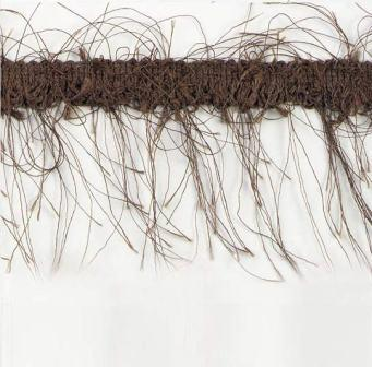 E1785  Brown Eyelash Gimp Fringe Trim