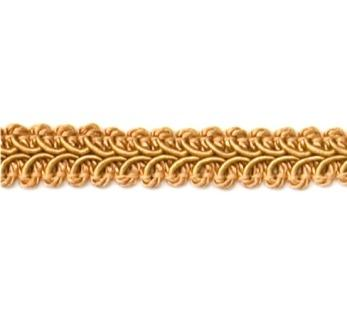 "RME1901 (30"" REMNANT)  Gold Gimp Sewing Upholstery Trim"