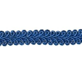 "E1901  Royal Blue Gimp Sewing Upholstery Trim 1/2"""
