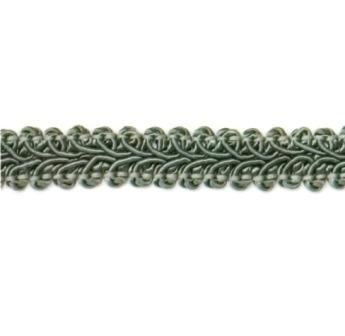 """E1901  Sage Green Gimp Sewing Upholstery Trim 1/2"""""""