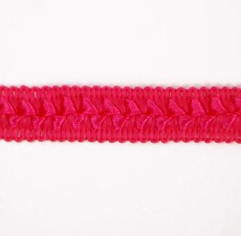 "E6182  Fuchsia Lattice Gimp Sewing Craft Trim 3/4"""