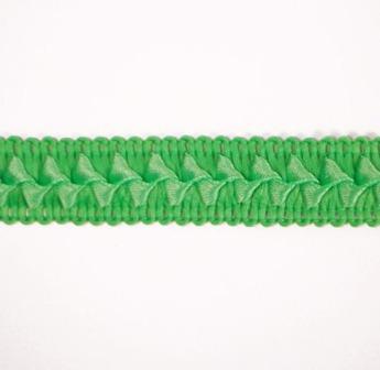 "E6182  Lime Green Lattice Gimp Sewing Craft Trim 3/4"""