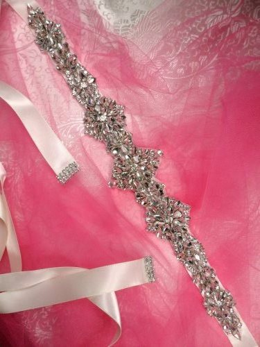"1.5 Inch Bridal Sash of Your Choice! Let us Make it for You! 1.5"" Ribbon"