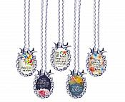 Scripture Necklace How Majestic Is His Name Over All The Earth Dove Pendant Inspirational Christian Jewelry w/ Silver Chain JW146