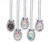 Scripture Necklace The Truth Will Set You Free Dove Pendant Inspirational Christian Jewelry w/ Silver Chain JW150
