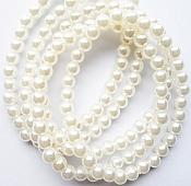 Set of 5 Stretchy Bracelets Pearls Ivory Costume Jewelry JW62
