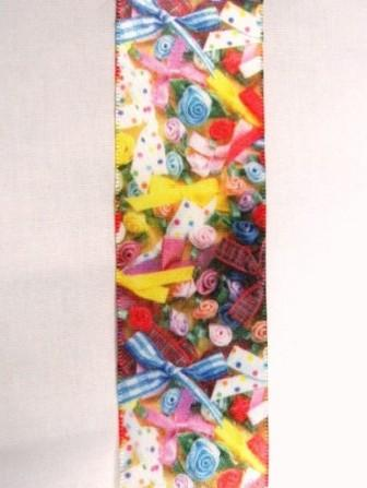 L36 Ribbons & Bow Satin Craft Sewing Ribbon Trim 1-5/8""