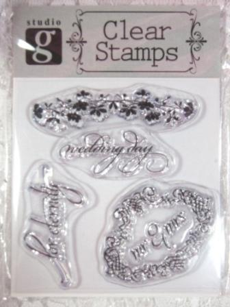 RS17  Clear Stamp Bridal Stamps