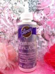 "Aleene's ""Permanent"" Fabric Glue 4 Oz."