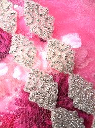 XR131 Baby Cinderella Crystal Rhinestone Beaded Trim