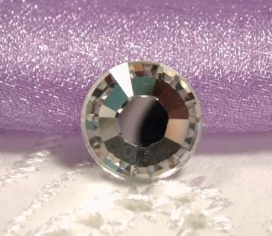 FS40SS  Xilion Rose Crystal Clear Swarovski Austrian Rhinestone Flat-Back 2028 (one piece)