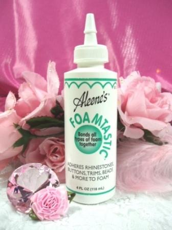 Aleene's Foamastic Bond to Foam Glue 4 oz.