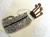 "Self Adhesive Golf Sequin Applique Beaded Patch Motif Sewing Crafts Supplies 6.25"" (LC1870)"